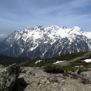 2018 GWの蝶ヶ岳と常念岳登山