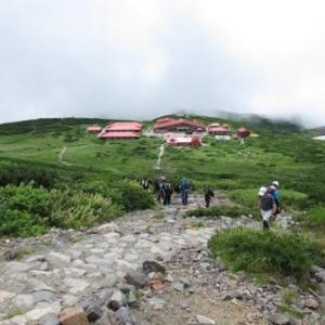 霊峰白山テント泊修行 その2 お池めぐりと南竜ヶ馬場野営場