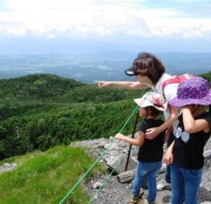 子供ら楽しく北横岳山登り