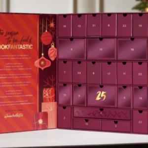 lookfantasticアドベントカレンダー予約するならボックス1か月+ギフトの今がいいかも?