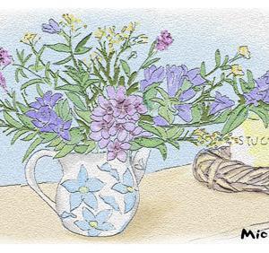 花瓶とお花