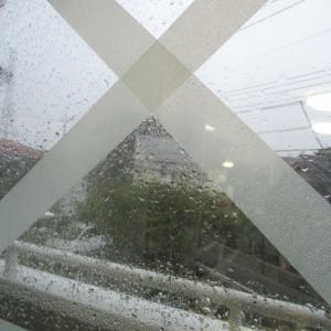 台風一過!!