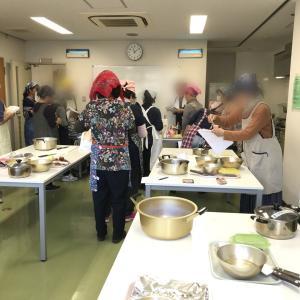 料理教室へ行きました