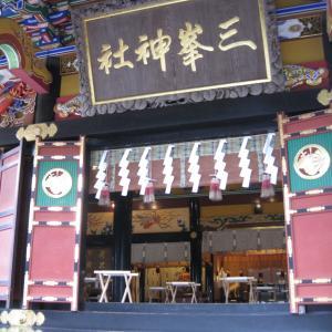 2020.07三峯神社オフ会  ちえさんのワークと朝のご祈祷