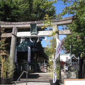 真夏の太陽に煌めく海南神社