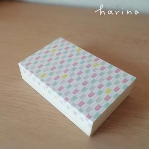 キャンドゥ*木製ふた付きBOX 簡単リメイク