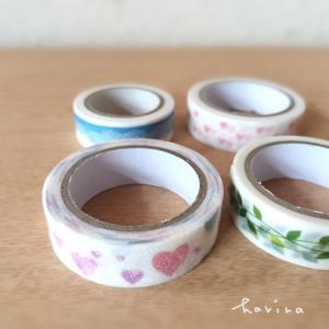 セリア*マスキングテープ4種