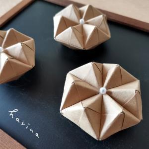 ユニット折り紙*クラフト折り紙 六角形マグネット