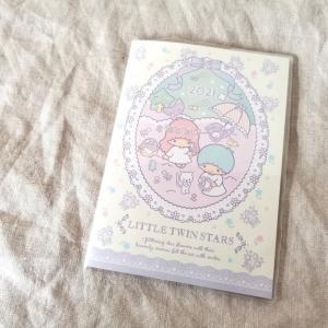セリア*キキララ手帳とノート