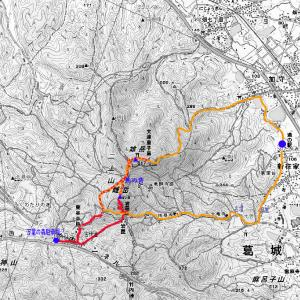 二上山の奈良側登山ルート記事の公開のお知らせ
