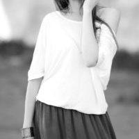 mina perhonen ナチュラルなスカートスタイル・ワンピースも