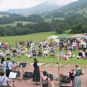 「六呂師高原音楽祭」を楽しむ。