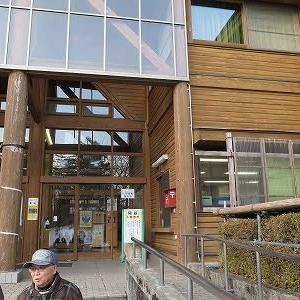 「冬の野鳥レストラン」探訪「県自然保護センター」。