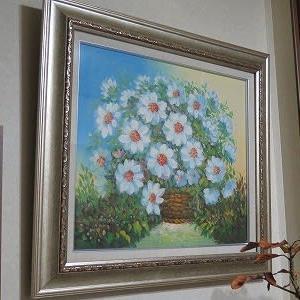 季節の移ろいも変に?、設え「春の花」。