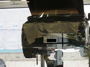 自家用車の「6か月法定点検」実施。