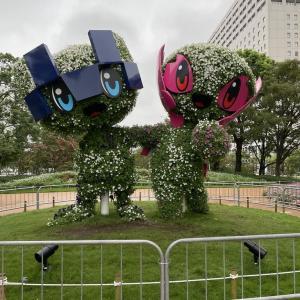 東京熱狂記(122)東京2020マスコットガーデン