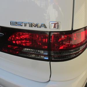 トヨタ自動車 エスティマ シート擦れ修理施工
