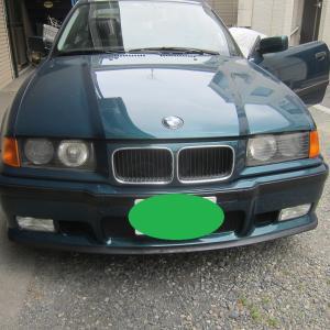 BMW E36 リアトリム張替え修理