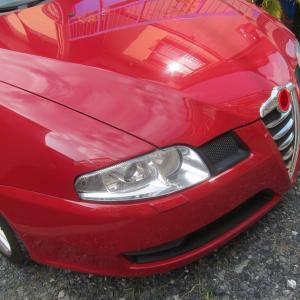アルファロメオ GT 天張り張替え修理
