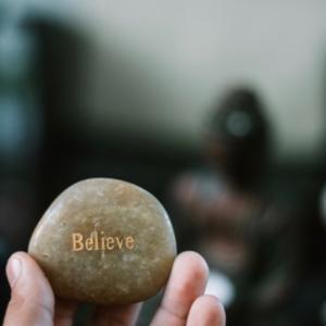 自分を信じる事が出来ない時