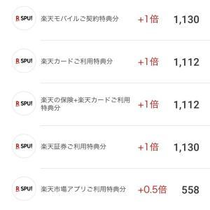 楽天スーパーセール☆17店舗完走
