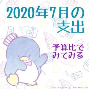 2020年7月の支出☆
