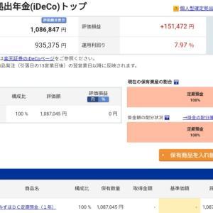 【iDeCoと株】売買 スイッチング