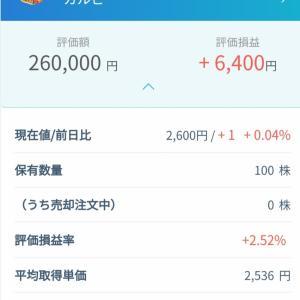 【株】購入して100株へ