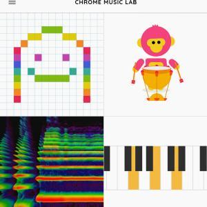 Chrome Music Labが面白いです!