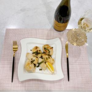 夫婦別メニューのディナーと慣れないお弁当作り....