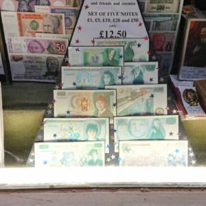 お土産にハリーポッターの紙幣はいかが!?COLIN NARBETH AND SON LTD(コリン・ナーベス&サン)英国ロンドン