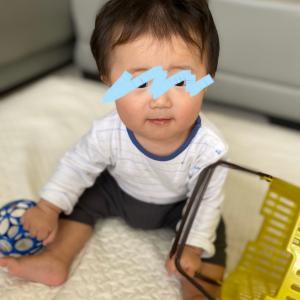 次男、生後7ヶ月(オンザデイ!)