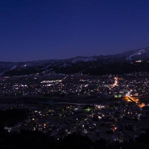 今年最後の快晴になりそうな坂戸山へ