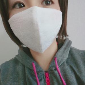 オススメ!可愛い冷感レースマスク(^-^)