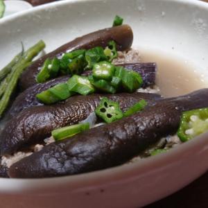 茄子とひき肉煮レシピ