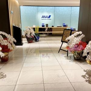 リニューアルオープンした那覇空港のANAラウンジは広いっ!!