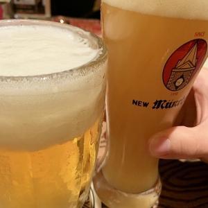 キュッヒェ ニューミュンヘン / 阿波乙女鶏の唐揚と生ビールと。。いつも同じのばっか頼んぢゃう・
