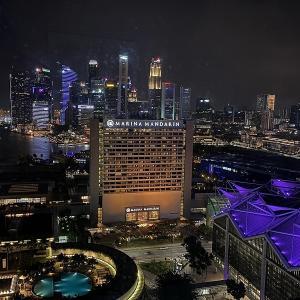 コンラッド・センテニアル・シンガポール前編 / エグゼクティブラウンジを満喫しまくりの巻♪