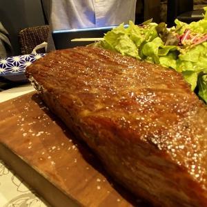大衆肉食堂源兵衛 中崎町店 / お肉をがっつり食べたくなったら塊肉のステーキをお好きな量だけ!