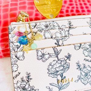 【本日配送♪】フルラの花柄カード入れを購入しました❤️