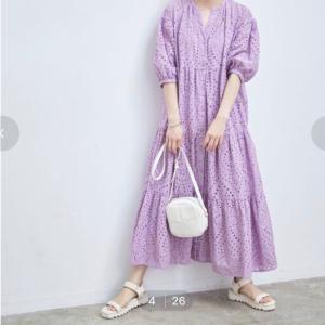 愛されファッション♡ VISのワンピースを買いました♪♪