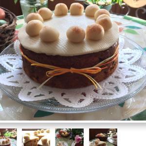 イースターの英国菓子「シムネルケーキ」販売開始しました