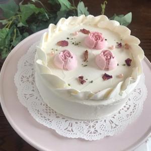 母の日にも♡エルダーフラワーとレモンのケーキ〜Special version〜
