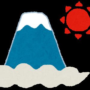 【今日は富士山富士山が世界遺産に登録された日です。富士山を生で見たことありますか?】