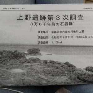 上野遺跡、特別展