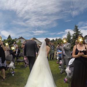 結婚式からもう2年!