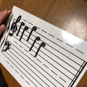 音符の学習は、音符マグネットが便利!