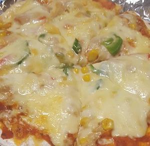簡単&美味しい♡トースターでピザ!