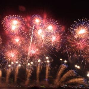 なにわ淀川花火大会エキサイティングシートで見てきました!