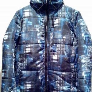 【閉店セール】RELI 総柄パディングフードジャケット
